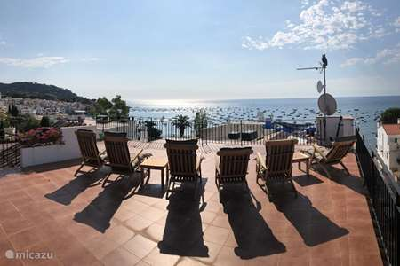 Vacation rental Spain, Costa Brava, Calella de Palafrugell  penthouse Beach lodge Casadam
