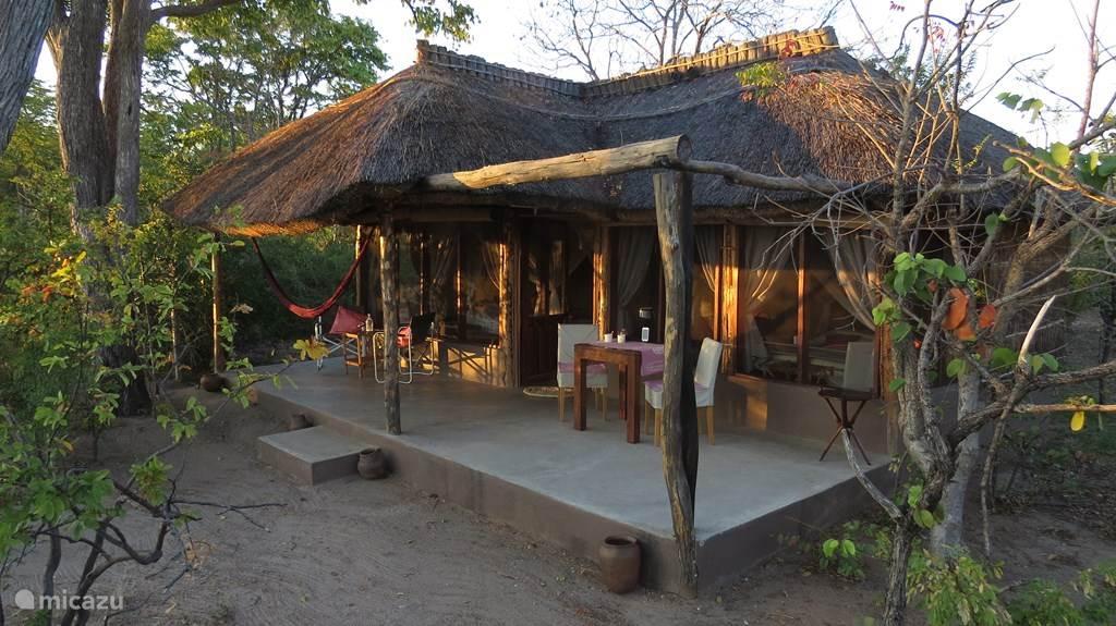 Vakantiehuis Zambia – chalet Malama Umoyo Cottage Eve