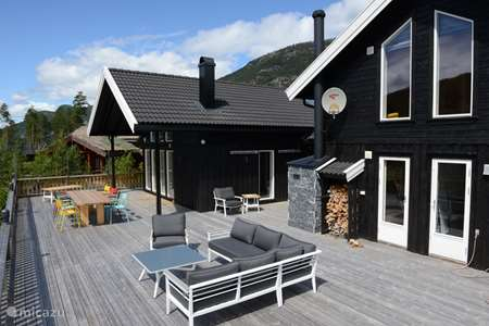Vacation rental Norway – villa Villa Hofseth - on the Vravatn lake