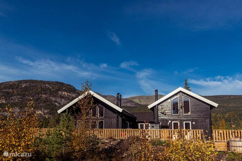 Vakantiehuis Noorwegen, Telemark, Vradal Villa Villa Hofseth - aan het Vravatn meer