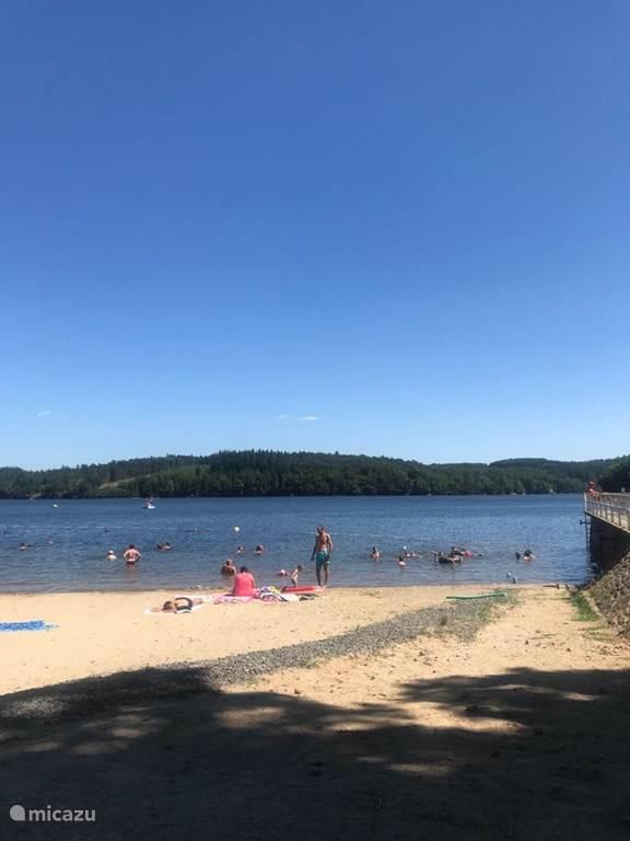 stuwmeer Lac de Triouzoune