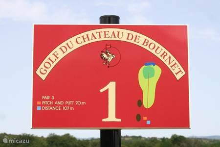Golfplatz Chateau de Bournet in Grospierres
