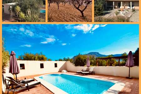 Vakantiehuis Spanje, Andalusië, Velez Rubio finca Finca Mi Casita