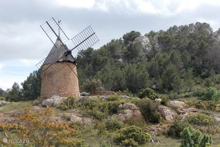 the mill of Saint Chinian