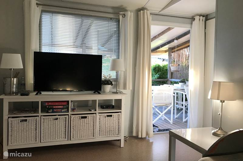 Vacation rental France, French Riviera, Ramatuelle Chalet Mobile-Home on KonTiki