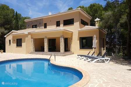 Vacation rental Spain, Costa Blanca, Moraira villa Villa Rio Serpis