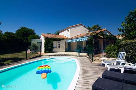 Vacation rental France, Vendee, Château-d'Olonne villa Bonnevie