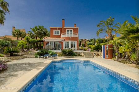 Vakantiehuis Spanje, Costa Blanca, Pedreguer - villa Vista Montgo