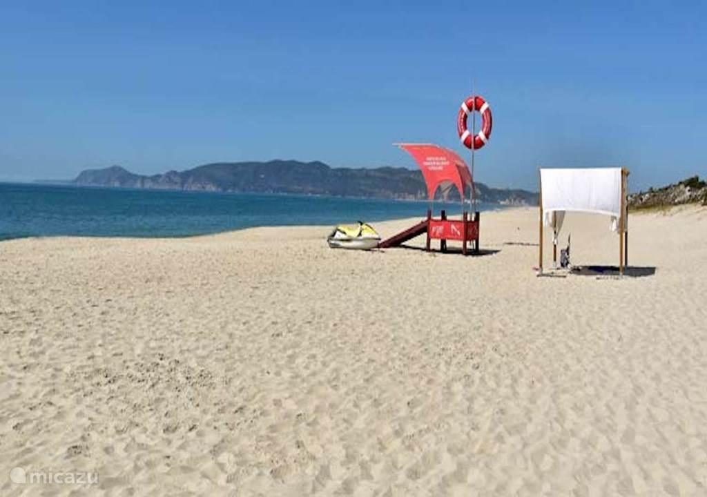 Vakantiehuis Portugal, Lissabon Kust, Setubal Appartement Zee- en jachthaven zicht appart.
