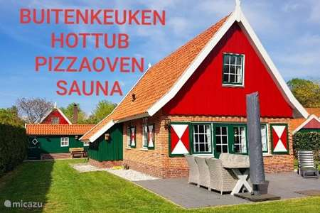 Vakantiehuis Nederland, Gelderland, Lievelde - vakantiehuis Luxe Vakantiehuis Hottub Pizzaoven