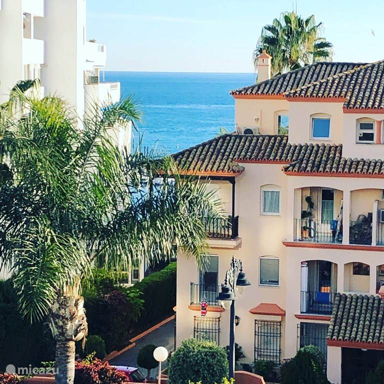 Vakantiehuis Spanje, Costa del Sol, Estepona - appartement Penthouse in de zon