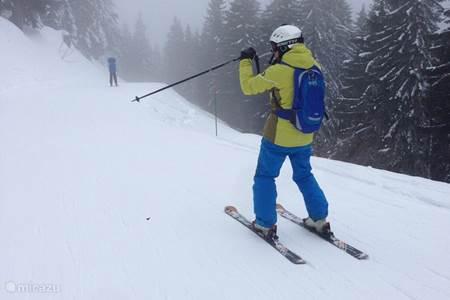 skien in de Portes du Soleil