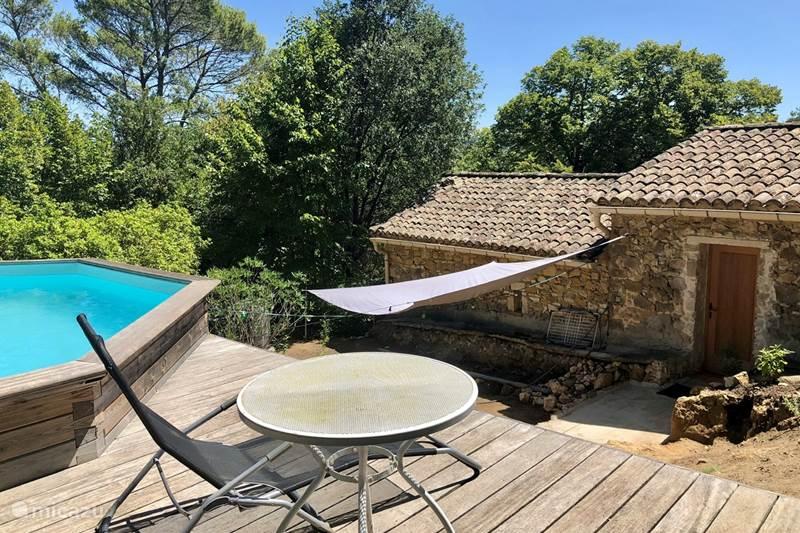 Vakantiehuis Frankrijk, Gard, La Roque-sur-Cèze Gîte / Cottage Gîte Atelier