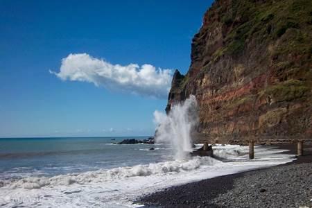 De kusten van Madeira