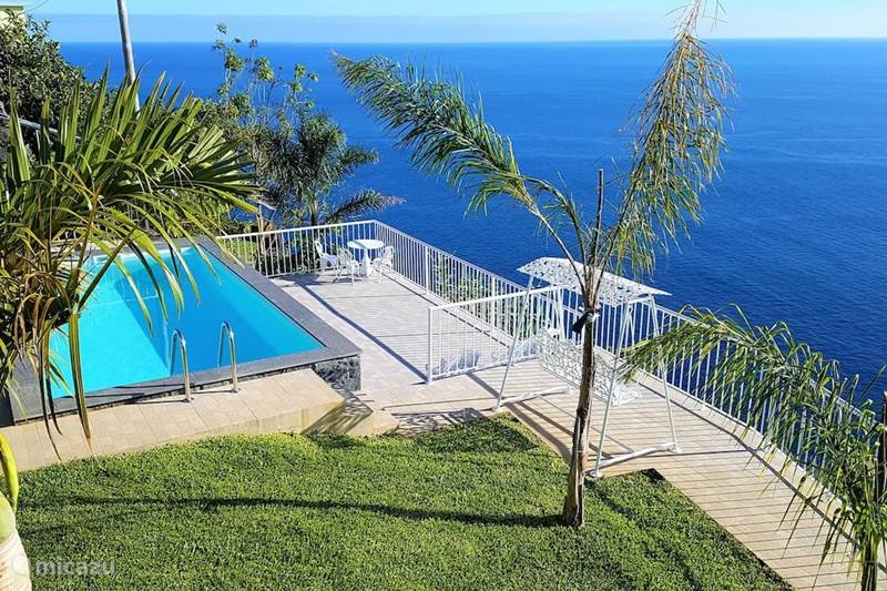 Vakantiehuis Portugal, Madeira, Calheta Villa The Green Sea Point House