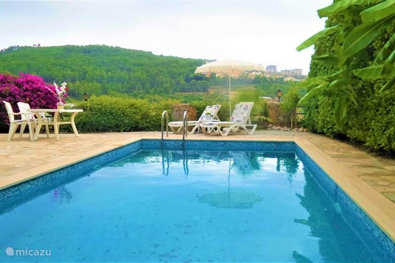 Vakantiehuis Turkije, Turkse Rivièra, Kargicak Villa Villa met privézwembad mét zeezicht