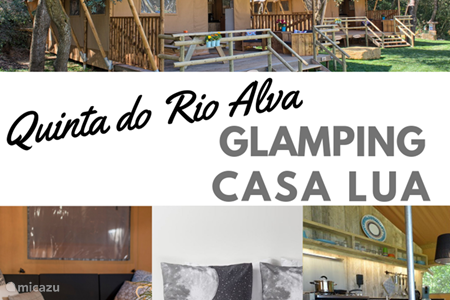 Vakantiehuis Portugal, Coimbra, Mouronho glamping / safaritent / yurt Glamping Casa Lua