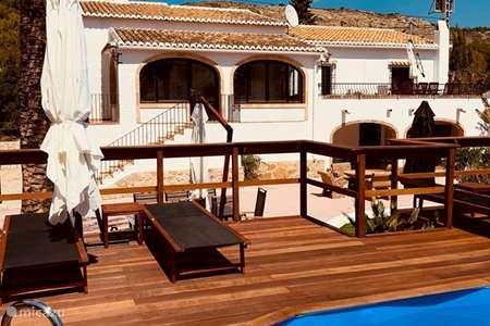 Vakantiehuis Spanje, Costa Blanca, Javea villa Villa Allà Dalt