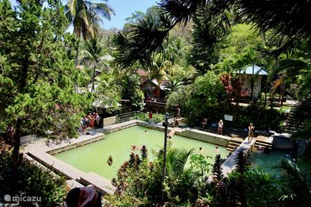 Hot springs in Banjar