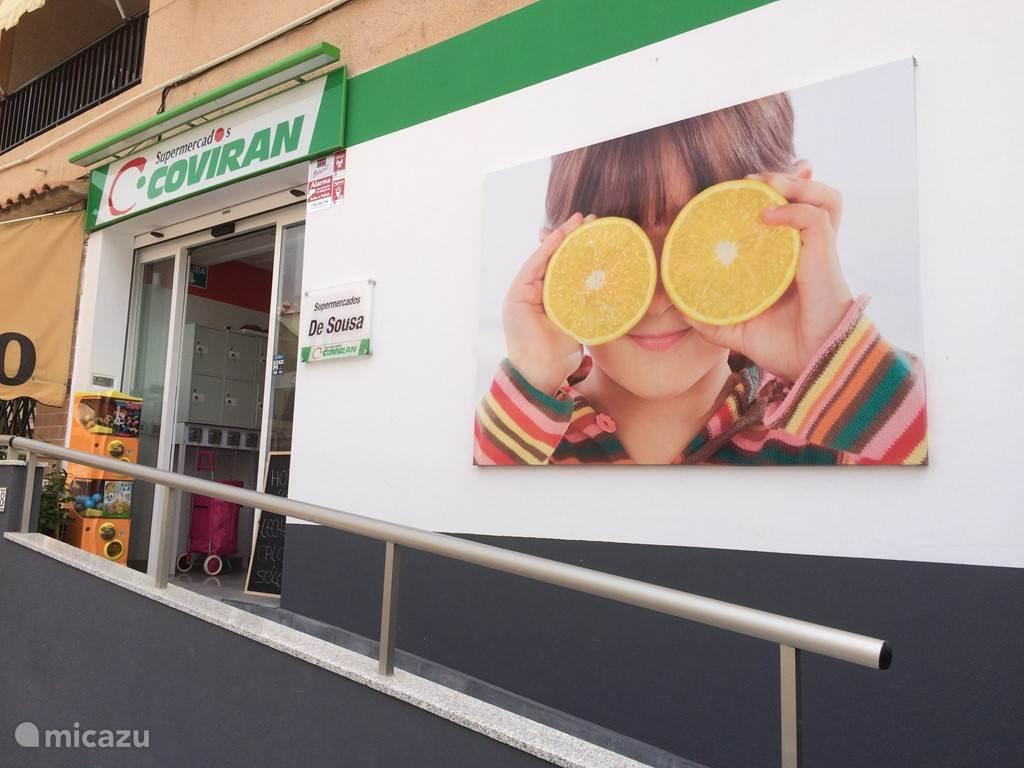 Supermarkten en shopping