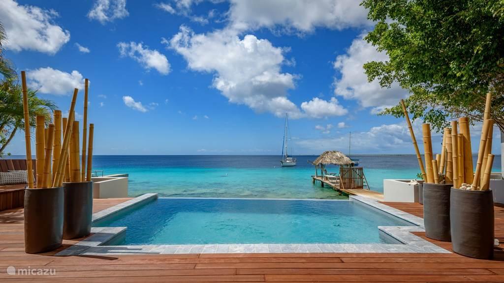Vakantiehuis Bonaire, Bonaire, Kralendijk Villa Beach Front Villa Seru Di Santu
