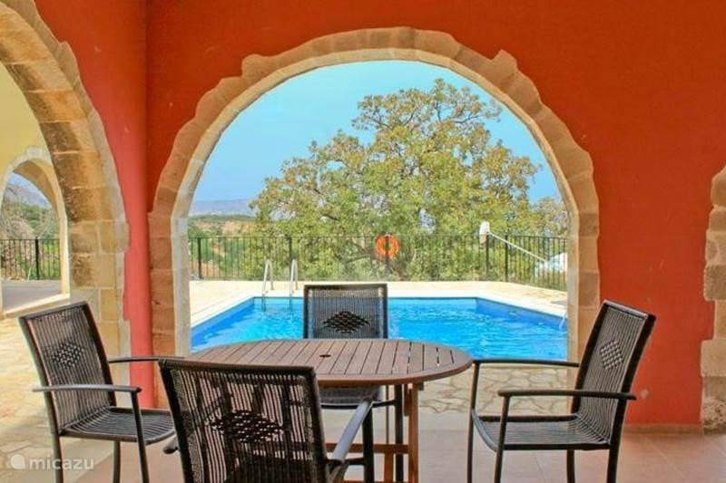 Vakantiehuis Griekenland, Kreta, Kastellos (Chania) Vakantiehuis Sea View Apartment