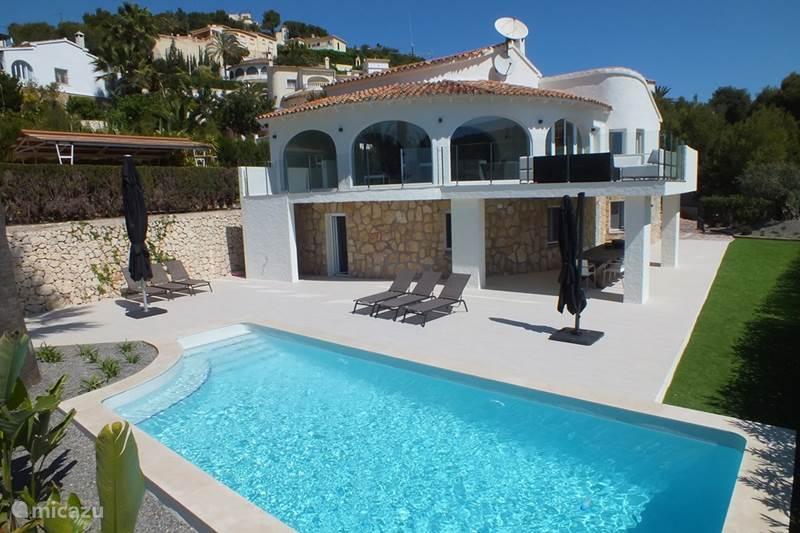 Vakantiehuis Spanje, Costa Blanca, Moraira Villa La CaSam