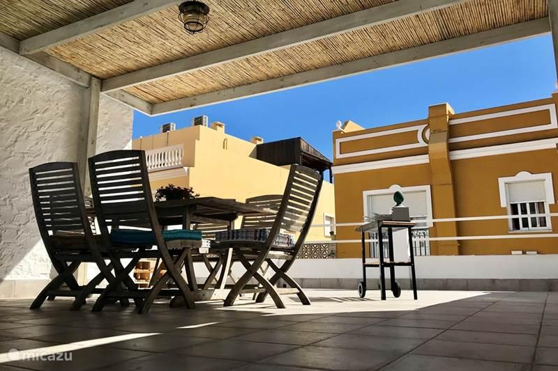 Vakantiehuis Spanje, Costa del Sol, Malaga Vakantiehuis Malaga Beach House, 2bikes,Kidsproof