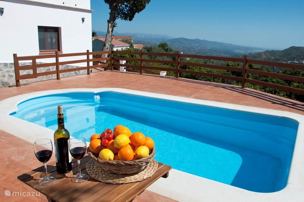 Vakantiehuis Spanje, Costa del Sol, Comares villa Villa la Noria