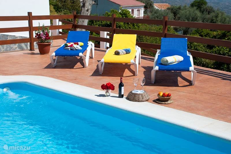Vacation rental Spain, Costa del Sol, Comares Villa Villa La Noria