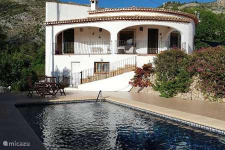 Ferienwohnung Spanien, Costa Blanca, Jalón villa Casa Llamedos (Naturliebhaber)