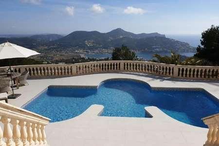 Vakantiehuis Spanje, Mallorca, Puerto de Andraitx villa Vakantie Villa Port d'Andratx