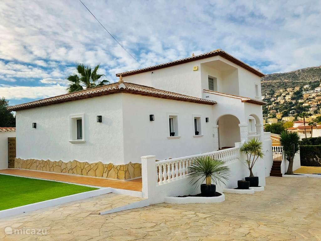 Vakantiehuis Spanje, Costa Blanca, Calpe - villa Casa Philomena