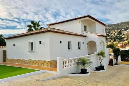 Vakantiehuis Spanje, Costa Blanca, Calpe villa Casa Philomena