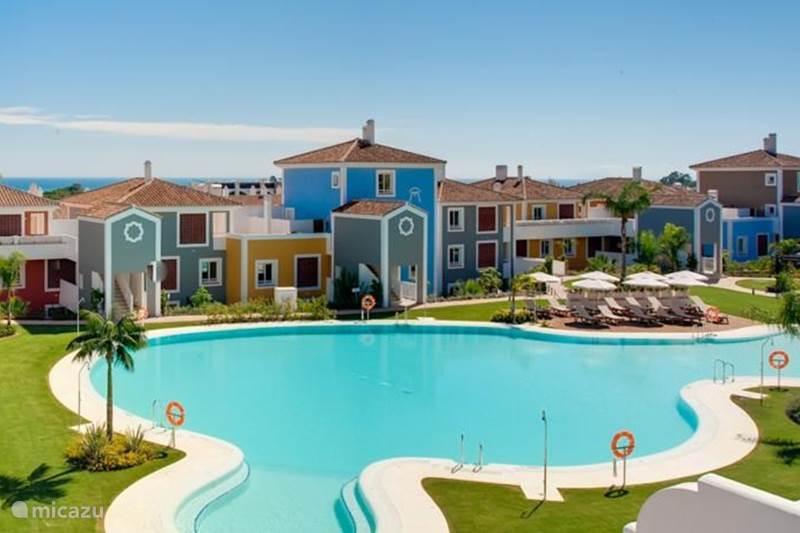 Vakantiehuis Spanje, Costa del Sol, Marbella Appartement Cortijo del Mar Resort-Duplex App