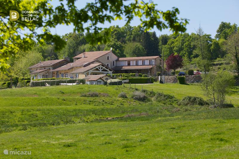 Vakantiehuis Frankrijk, Charente, Rousinnes Vakantiehuis Le Cabriolet - Domaine de Bellac