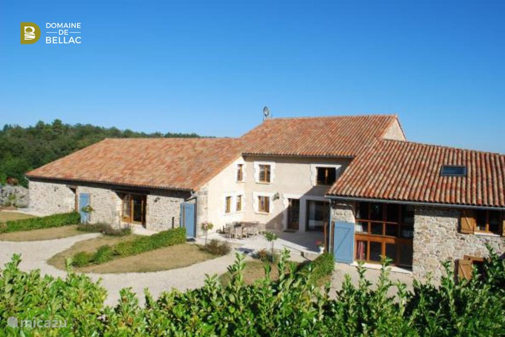 Vakantiehuis Frankrijk, Charente – vakantiehuis Le Cabriolet - Domaine de Bellac