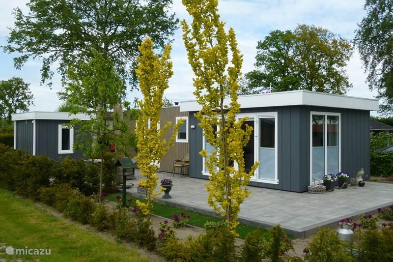 Vakantiehuis Nederland, Utrecht, Renswoude Chalet Moderne Cube E063