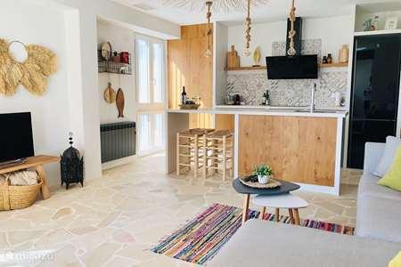 Vakantiehuis Spanje, Costa Blanca, Javea appartement Perla de l'Arenal (Terras & zwembad)