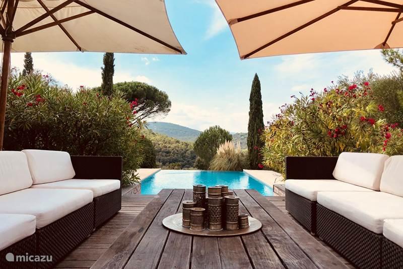 Vakantiehuis Frankrijk, Côte d´Azur, Gassin Bed & Breakfast Chambres d'hôtes St-Tropez kamer 1