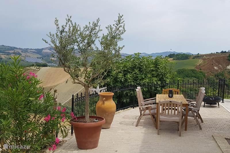 Vakantiehuis Italië, Marche, Offida Villa Casa La Farfalla