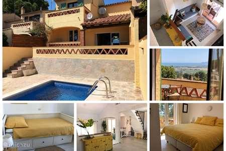 Vakantiehuis Spanje, Costa Brava, L'Estartit vakantiehuis Casa Berna