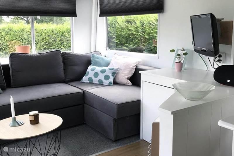 Vakantiehuis Nederland, Gelderland, Ermelo Stacaravan Modern ingerichte stacaravan