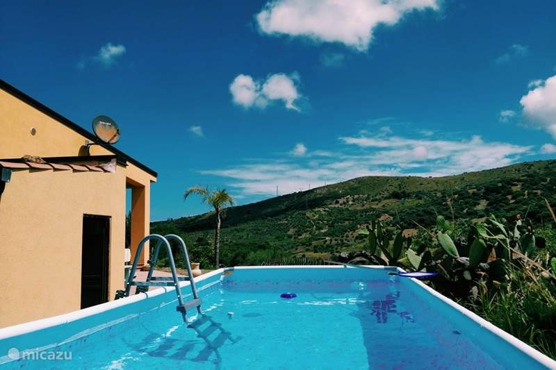 Ferienwohnung Italien, Sizilien, Collesano Ferienhaus Casa Pizzido