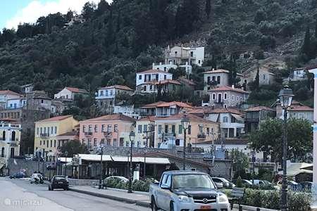 Vakantiehuis Griekenland, Peloponnesos, Gythio vakantiehuis Hillside House Casa Laryssiou