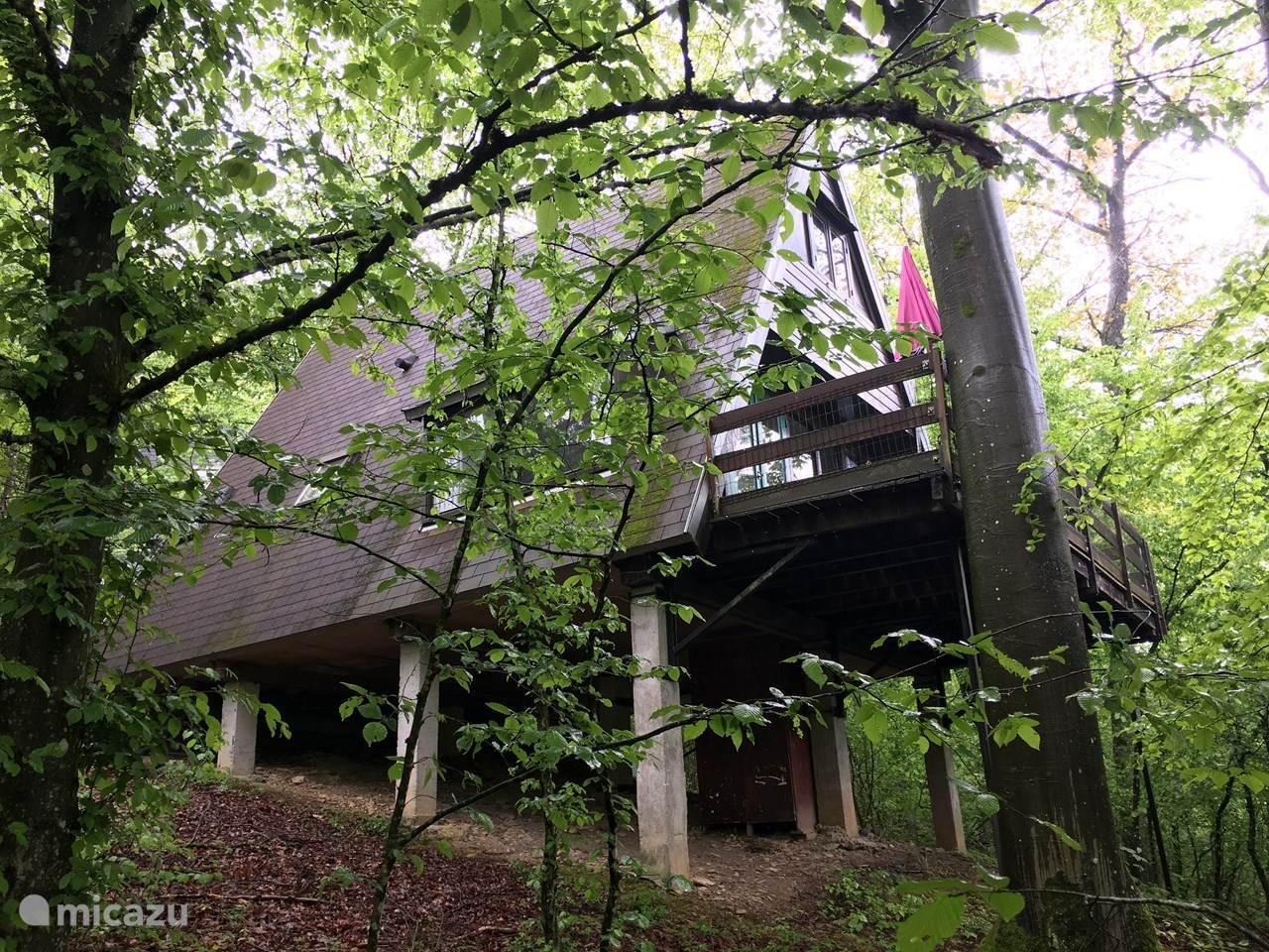 Vakantiehuis België, Ardennen, Durbuy vakantiehuis 'de Metgezel' huisje 104