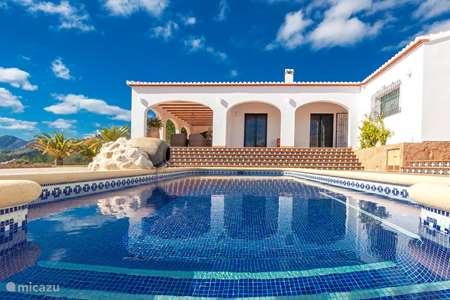 Vakantiehuis Spanje, Costa Blanca, Gata de Gorgos vakantiehuis La Maison de Caroline