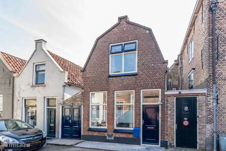 Vakantiehuis Nederland, Zeeland, Zierikzee geschakelde woning Vakantiehuisje Zierikzee