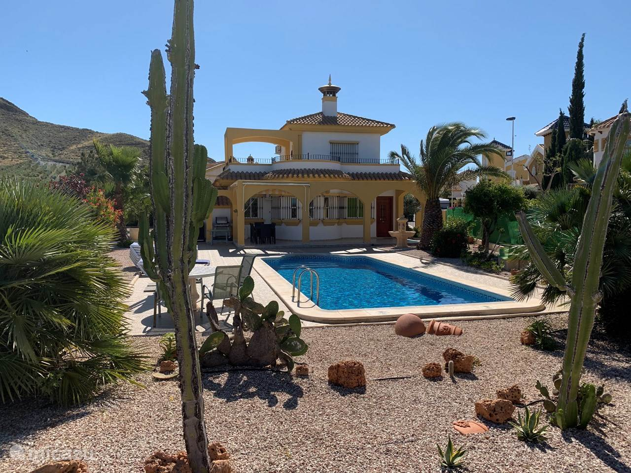 Vacation rental Spain, Costa Calida, Mazarrón villa Villa Paraiso