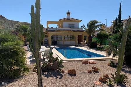 Vakantiehuis Spanje, Costa Cálida, Mazarrón villa Villa Paraiso